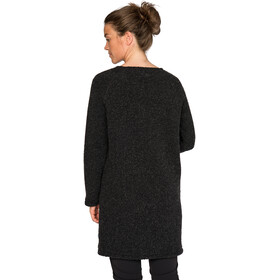 Varg Fårö Long Wool Dress Dam dark anthracite